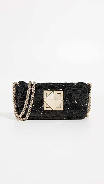 bc1d45527dc5f Sequin Shoulder Bag