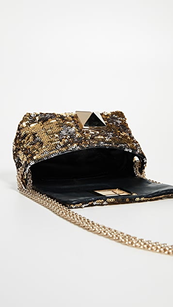 Sonia Rykiel Sequin Shoulder Bag