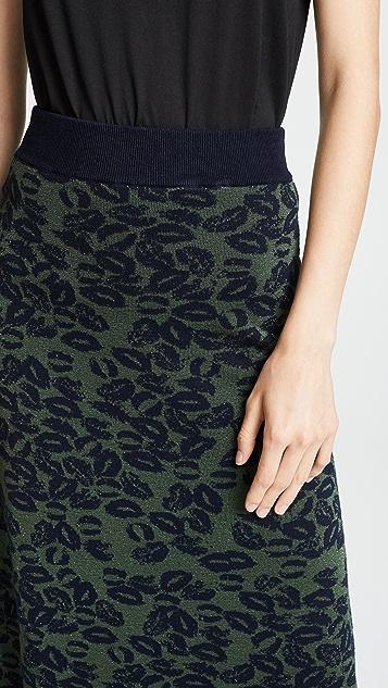 Sonia Rykiel Patterned Skirt