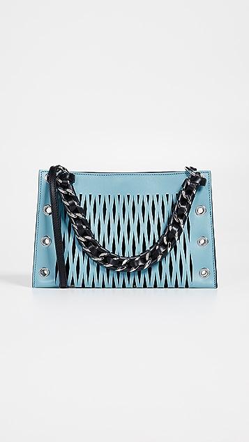 Sonia Rykiel Перфорированная сумка с цепочкой