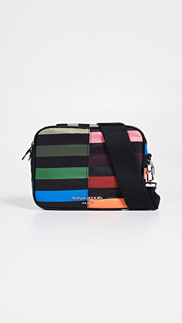Sonia Rykiel Stripe Camera Bag