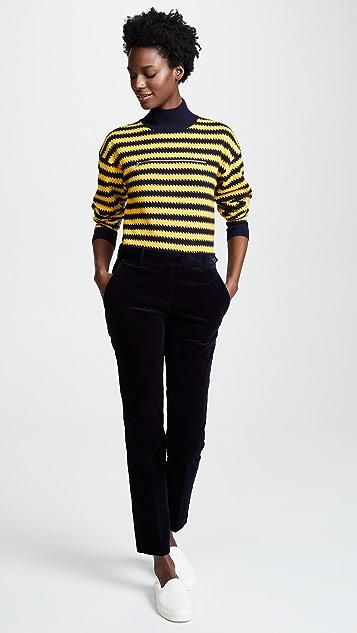 Sonia Rykiel Ziggy Stripe Cashmere Sweater