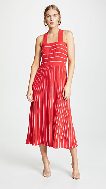 Sonia Rykiel Halter Neck Knit Dress