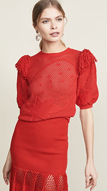 Sonia Rykiel Textured Knit Top