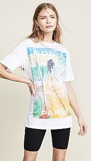 Sonia Rykiel 图案 T 恤
