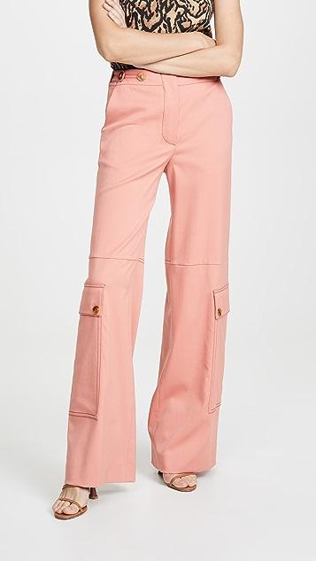 Sonia Rykiel 口袋装饰裤子