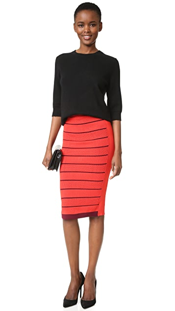 Sonia by Sonia Rykiel Double Layer Skirt