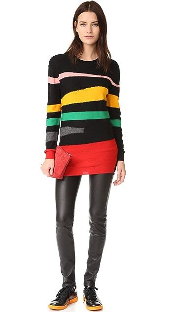 Sonia by Sonia Rykiel Geometric Sweater