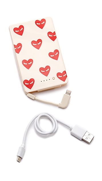 Sonix Fancy Heart Portable Charger