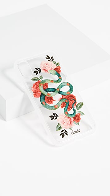 Sonix Clear Snake Heart iPhone X Case
