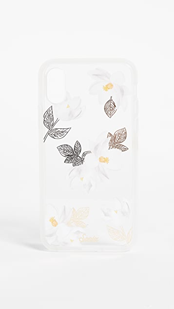 Sonix Clear Oleander iPhone X Case - White/Black