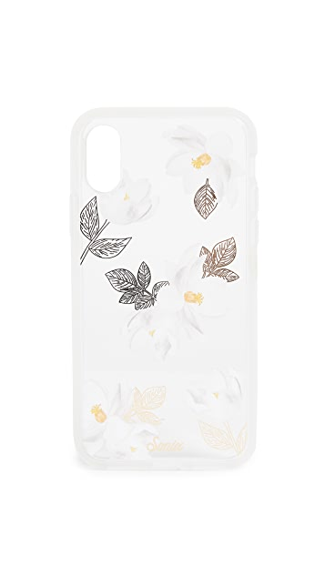 Sonix Clear Oleander iPhone X Case