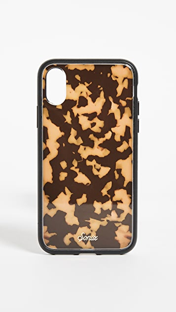 Sonix Brown Tortoise iPhone X Case