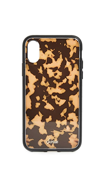 Sonix Brown Tortoise iPhone X Case