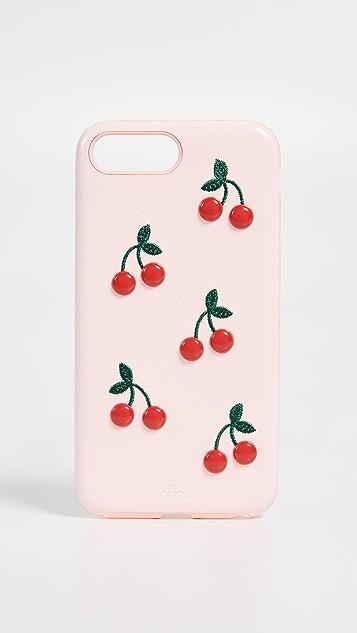 Sonix Patent Cherry Leather iPhone Plus Case