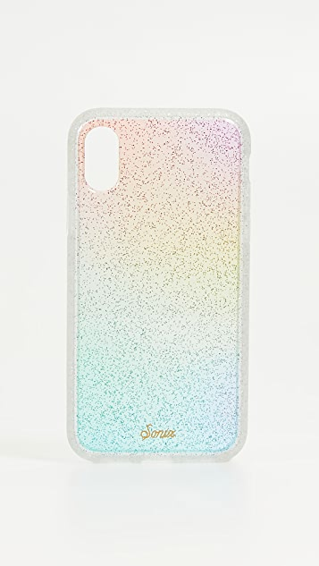 Sonix Rainbow Glitter iPhone XS / X Case