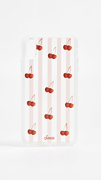 Sonix Cherry Stripe iPhone XS Max Case