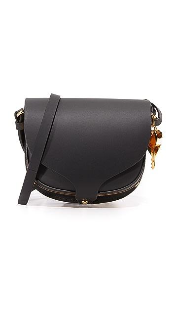 Sophie Hulme Mini Saddle Cross Body Bag