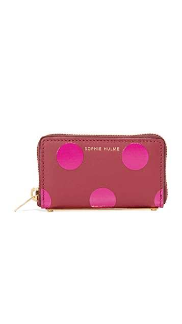 Sophie Hulme Mini Rosebery Coin Purse