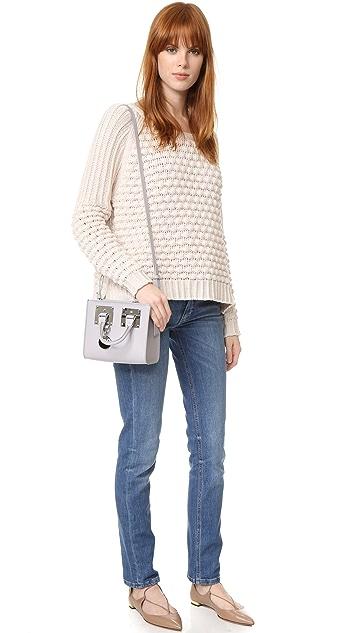 Sophie Hulme Mini Box Tote Bag