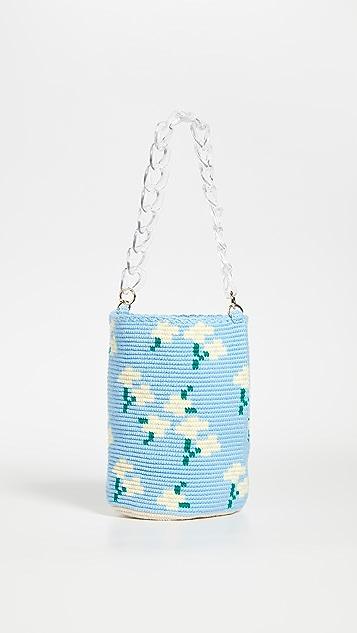 Soraya Hennessy Gerbera Midi Bucket Bag
