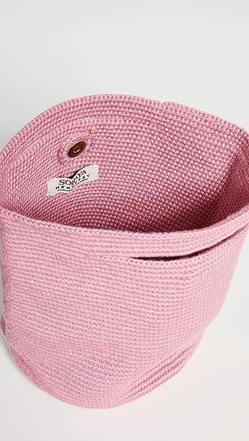 Soraya Hennessy Розовая миниатюрная сумка для покупок