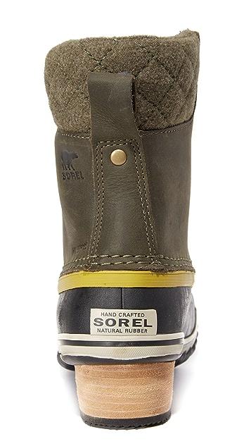 Sorel Slimpack II Lace Up Booties