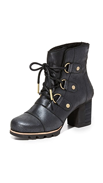 Sorel Addington Lace Up Holiday Booties