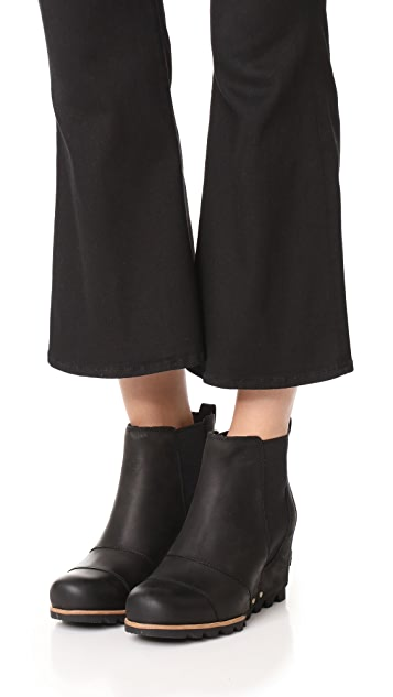Sorel Lea Wedge Booties