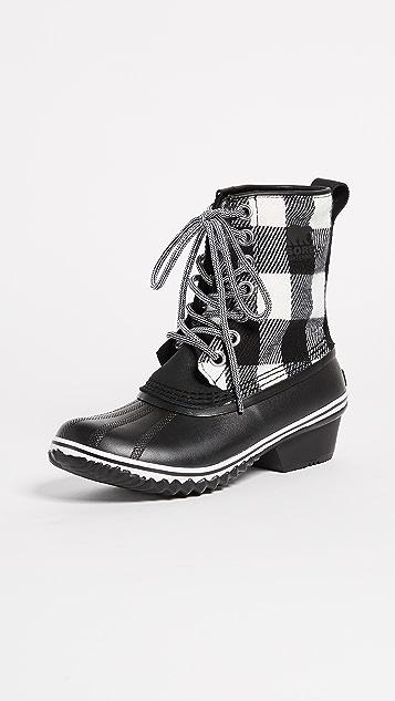 Sorel Slimpack 1964 Boots - Black/White