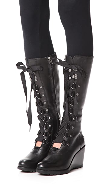 Sorel After Hours Tall Wedge Boots