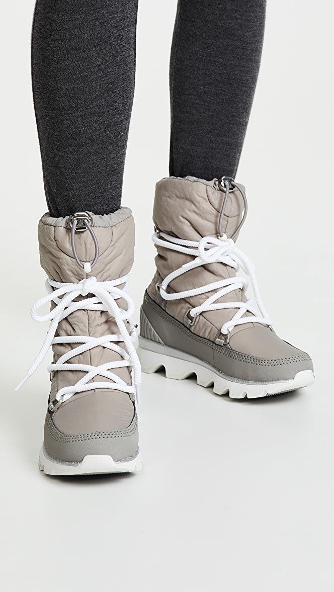 sorel kinetic lace up boot