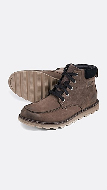 Sorel Madson Moc Toe Waterproof Boots