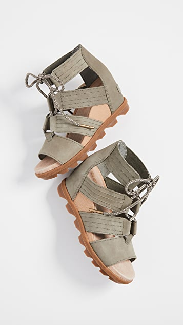 Sorel Joanie II Lace Wedge Sandals