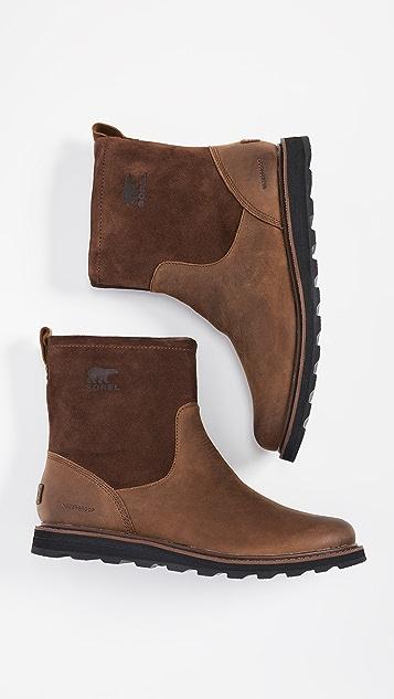 Sorel Madson Zip Boots