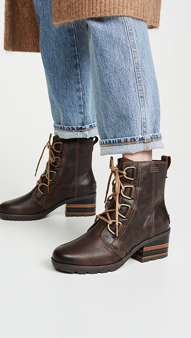 Sorel Cate Lace Up Boots | SHOPBOP