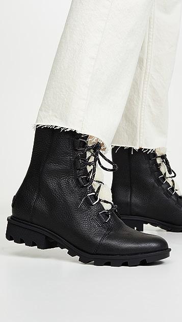 Sorel Phoenix Short Lace up Boots