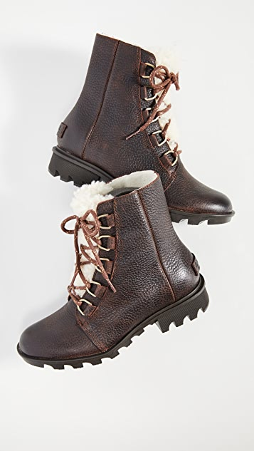Sorel Phoenix Short Lace up Boots