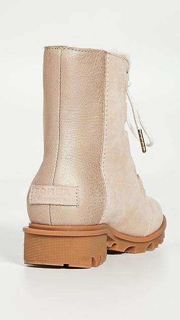 Sorel Phoenix Short Lace Up Luxe Boots