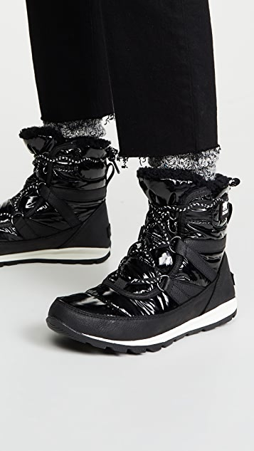 Sorel Whitney Short Lace Patent Boots