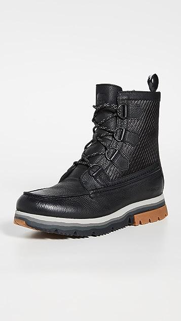 Sorel Atlis Caribou Nylon Waterproof Boots
