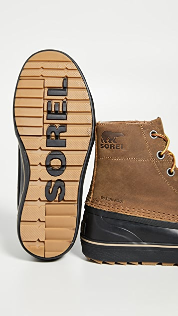 Sorel Cheyanne Metro Lace Up Waterproof Boots