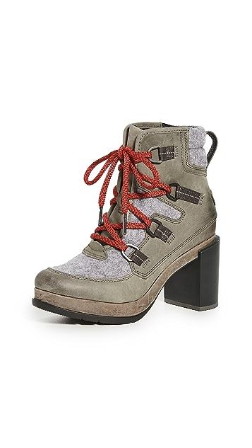 Sorel Blake Lace Block Heel Boots