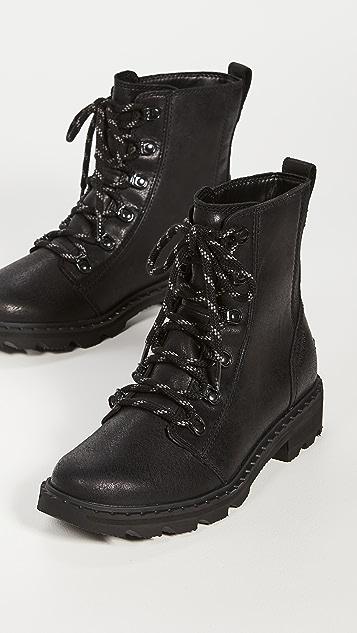 Sorel Lennox 蕾丝军靴