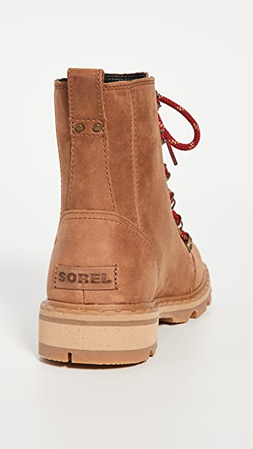 Sorel Lennox Lace Naturebear 军旅靴