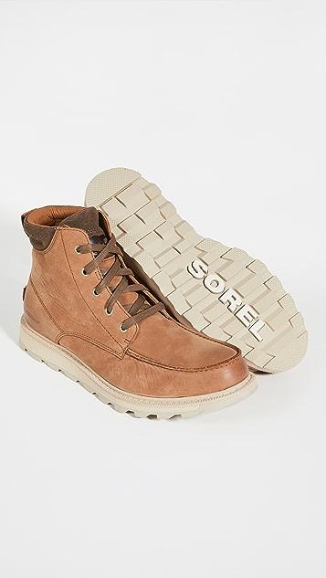 Sorel Madson II Moc Toe Waterproof Boots