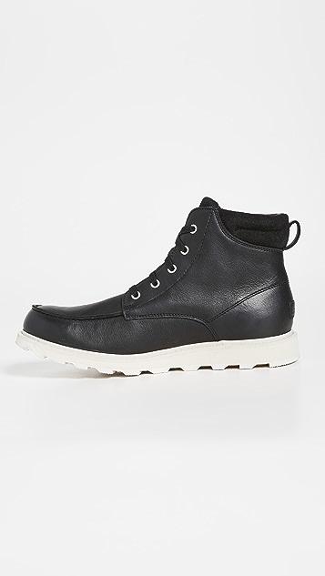 Sorel Madson II Moc Toe Boots
