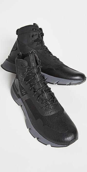 Sorel Kinetic Rush Mid Waterproof Sneaker Boots