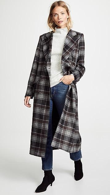 Sosken Gin Plaid Coat