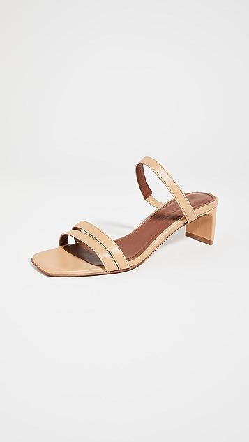 Souliers Martinez Luz 皮 50mm 凉鞋